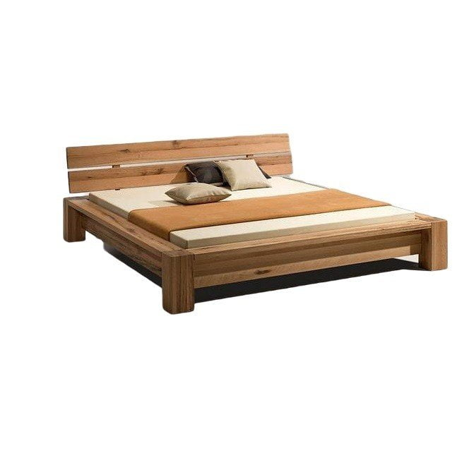 rustic solid teak bed frame available at casa bella designs