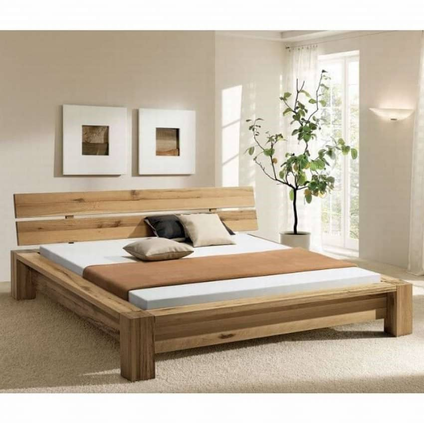 wooden bed frames available at casa bella designs