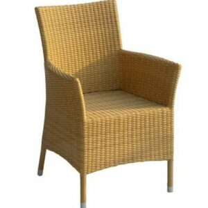 wicker arm chair patio