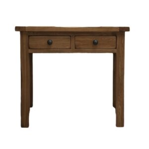 recycled teak console table