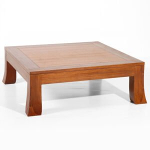 teak center table for modern living room