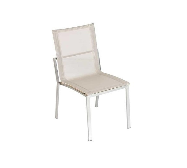 stainless steel outdoor side chair batyline