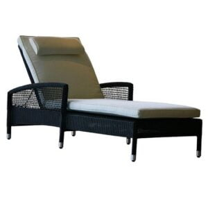 wicker lounger daybed