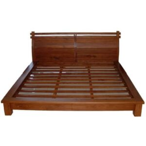 Teak Bed, The teak wood bed Frame makes for a stunning centerpiece in any bedroom
