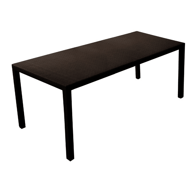 WICKER DINING TABLE WCT-12