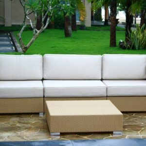 wicker modular sofa, custom made wicker furniture