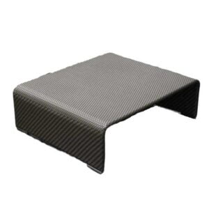 wicker square coffee table for patio