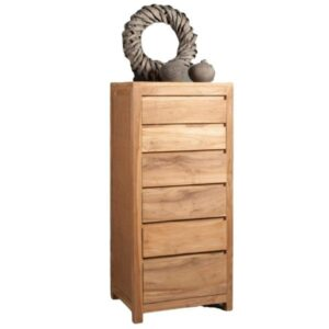 teak tallboy chest of drawer for you home