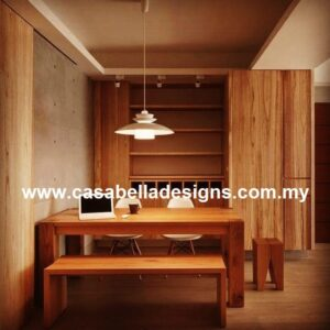 teak wood dining table Malaysia, Modern furniture supplier