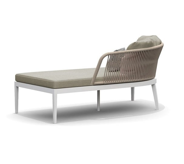 olefin rope outdoor daybed