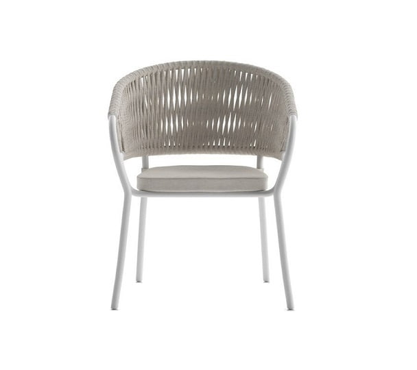 rope outdoor dining chair